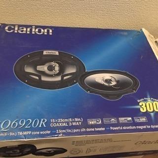 未使用 クラリオン 300W スピーカー