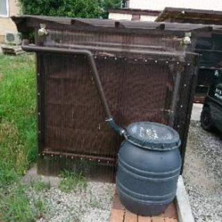雨水タンクの設置(渇水対策・災害対策・洗車・庭木用水)