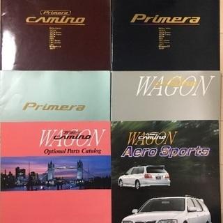 日産P11プリメーラ&プリメーラワゴン カタログ