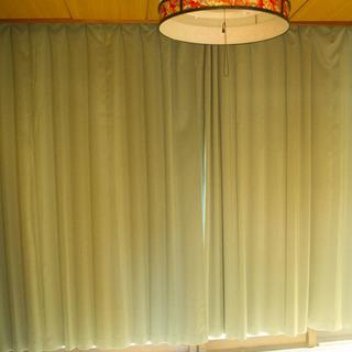 防炎、遮光カーテン1枚