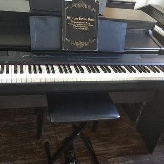 =電子ピアノ送料込み ¥32.000- ヤマハ P-105B=