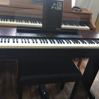 =電子ピアノ 送料込み ¥24.000- ヤマハ P-120=