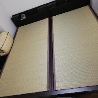 ニトリのシングル畳ベッド2台