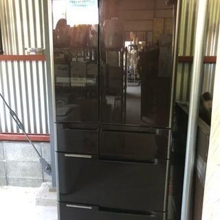 HITACHIノンフロン冷凍冷蔵庫  6ドア両開き