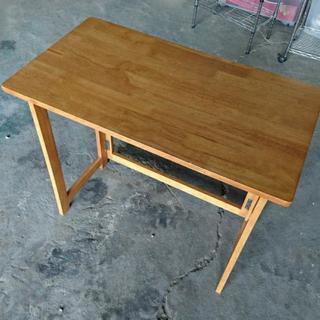 お取引中 木製折り畳みテーブル