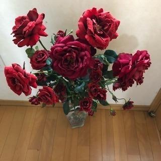 大輪の薔薇 アートフラワー