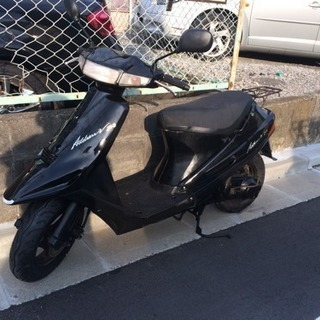 アドレスV100 黒色
