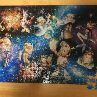 【お値下げ】【美品】ディズニーホログラムパズル