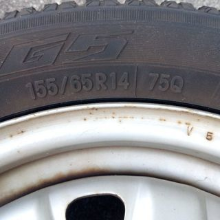 スタッドレスタイヤ 155/65R14