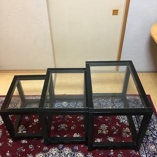 【無料】IKEA  ネストテーブル 3点セット