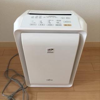 加湿空気清浄機 富士通 PLAZION  DAS-303E-W