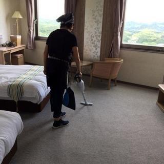 ビジネスホテルでの清掃ベッドメイキング客室整備など子育て世代・シ...