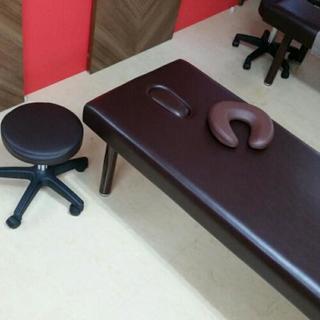 マッサージベット、椅子、顔あて付き