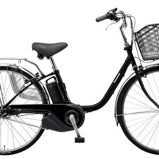 パナソニック 電動自転車 ブラック 新型 VIVISX バッテリー...