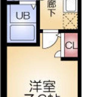 堺筋本町5分 家賃31,000円 共益費7,000円 25.50㎡