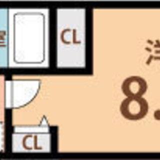 長堀橋4分 家賃30,000円 共益費5,500円 27.2m2
