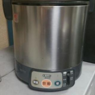 リンナイ 電子ジャー付きガス炊飯器(都市ガス12A・13A用) ...