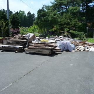家の改修で出た木材