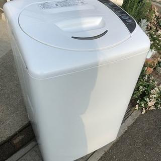 2009年製 サンヨー SANYO 5kg全自動洗濯機 ASW-E...