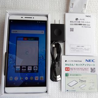【新品】 NEC LaVie Tab E PC-TE507FAW...