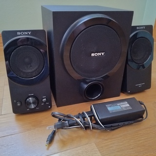 SONY・ソニー アクティブ スピーカー システム SRS-D5...