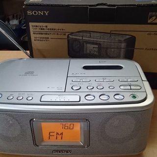 ソニー CDラジオカセットコーダー