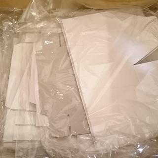 ラッピング用 白い ギフトボックス 箱 紙製