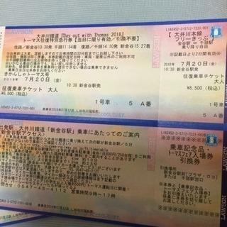 大井川鉄道トーマス列車 明日 7/20  4枚の画像