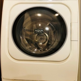 【中古】サンヨー SANYO 2009年製 ドラム式洗濯乾燥機 AQUA