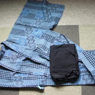 メンズ浴衣と帯