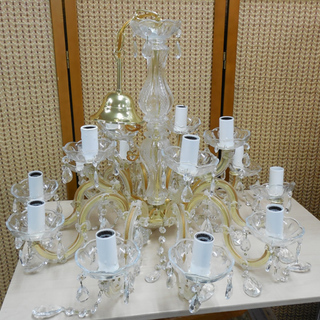 南12条店 シャンデリア イタリア製 15灯 豪華 照明