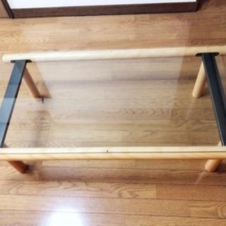 25日処分☆ガラステーブル