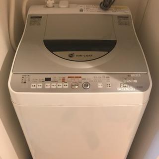 シャープ 全自動洗濯機 5.5kg (2010年製)