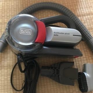【未使用品】自動車用掃除機 ブラックアンドデッカー PV1200...