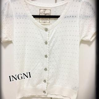 【INGNI/イング★半袖カーディガン】