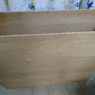 木の箱(外寸縦24cm横91cm高さ79cm)