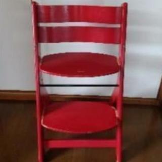 幼児椅子( ^-^) 食卓テーブル用( ^-^) 座る位置  足の...