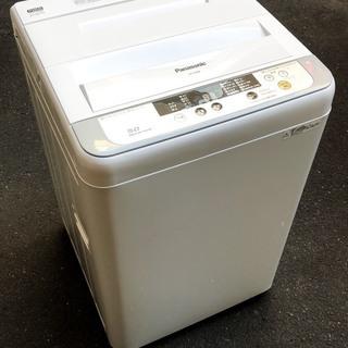 札幌市内送料・設置無料!キレイ!2015年 5kg パナソニック 洗濯機