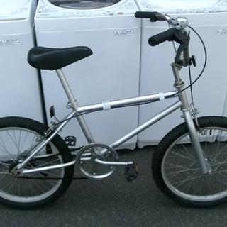札幌 自転車 BMX シルバー 20インチ