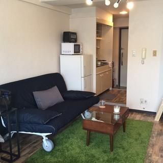 5000円 IKEA ソファーベッド クイーンサイズ