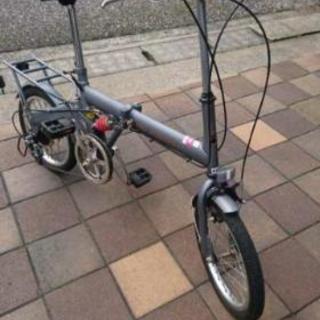 【受付終了】「ジャンク」折り畳み自転車