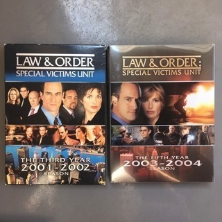 LAW & ORDER seasons 3&5