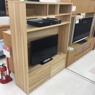 取りに来て頂ける方限定!IKEA(イケア)のハイタイプテレビボード...