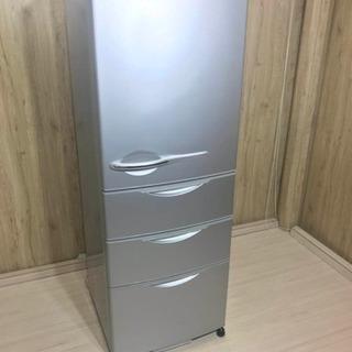 ★ SANYO 4ドア冷蔵庫 355L 人気タイプ!設置無料、送料...