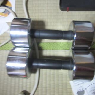 ダンベル(15lb)x 2