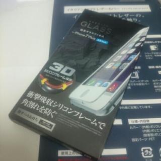 iphone7 plus 強化ガラス フルカバータイプ