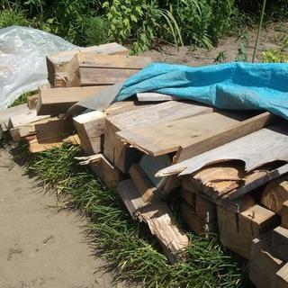 廃材 木材 薪 加工の為再募集