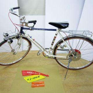 昭和レトロ自転車 26インチ 安全自転車(株)