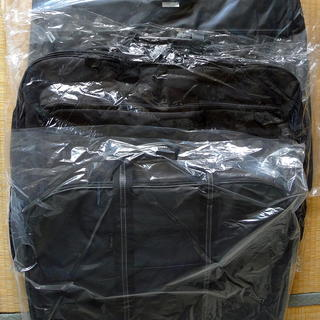 スーツ用バッグ(ハンガーケース) 黒 3点込 未使用品
