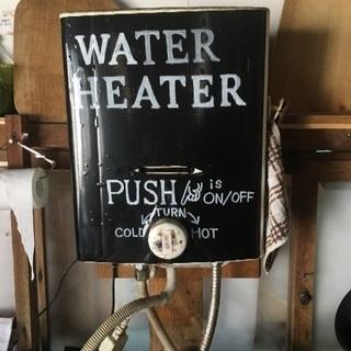 瞬間湯沸かし器